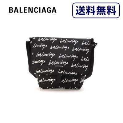 [正規品]送料無料 BALENCIAGA バレンシアガ EXPLORER MESSENGER M ブラック メッセンジャー バッグ メンズ 620258-9MITX-1093