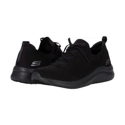 SKECHERS スケッチャーズ レディース 女性用 シューズ 靴 スニーカー 運動靴 Ultra Flex 2.0 - Black