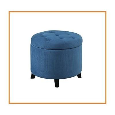 木製ボックス Designs4Comfort Round Ottoman