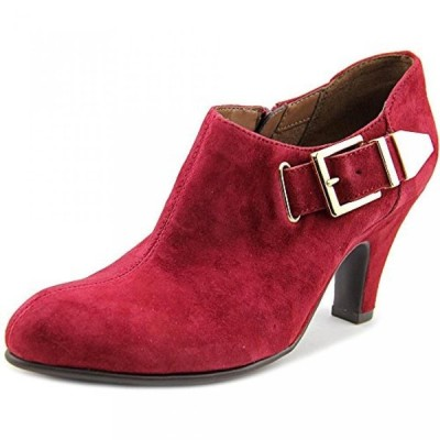 エアロソールズ レディース パンプス Aerosoles Escape Women Pointed Toe Suede Burgundy Bootie