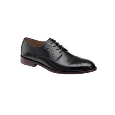 ジョンストンアンドマーフィー メンズ ドレスシューズ シューズ Men's Alredge Cap Toe Dress Shoes Black