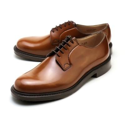 チャーチ 靴 シャノン サンダルウッド メンズ プレーントゥシューズ ポリッシュドバインダーカーフ Church's Shannon Polished binder Sandalwood MADE I…