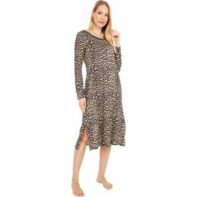 ケイト スペード Kate Spade New York レディース パーティードレス ワンピース・ドレス Brushed Sweater Knit Gown Small Classic Leopa
