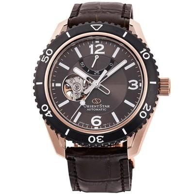 ポイント10倍  オリエントスター メンズ 腕時計 ORIENT STAR セミスケルトン RK-AT0103Y