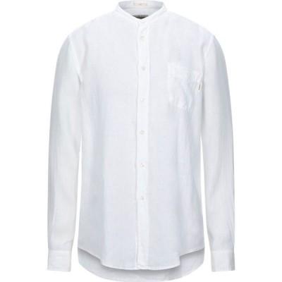 ロイロジャース ROY ROGER'S メンズ シャツ トップス Linen Shirt White
