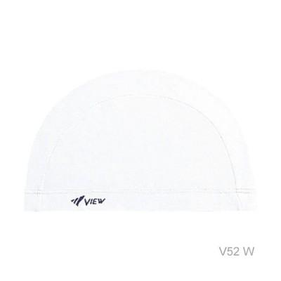 ☆ VIEW (ビュー) タバタ スイム 水泳帽 スイミングキャップ V52 W ホワイト 【stst】