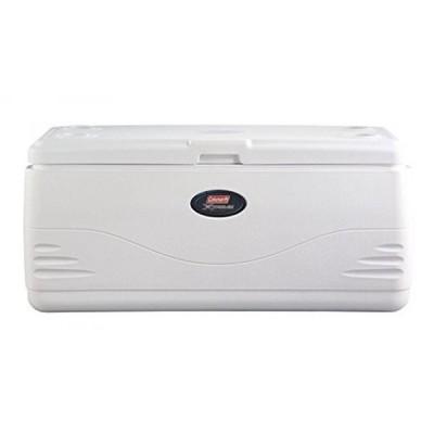 アウトドア用品 コールマン Coleman 3000001526 150Qt Marine Cooler, White