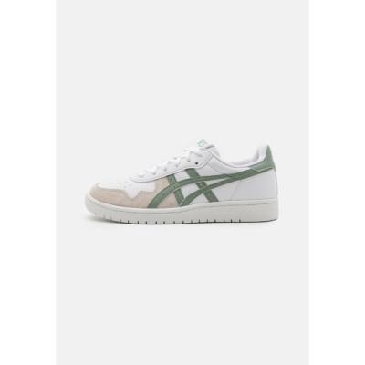 アシックス スニーカー メンズ シューズ JAPAN S UNISEX - Trainers - white/slate grey