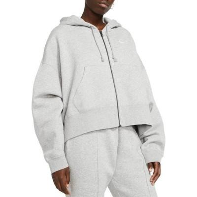 ナイキ レディース パーカー・スウェット アウター Nike Sportswear Women's Essentials Full Zip Fleece Hoodie