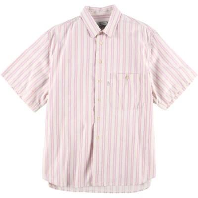 リーバイス Levi's 半袖 ストライプシャツ メンズL /eaa016332