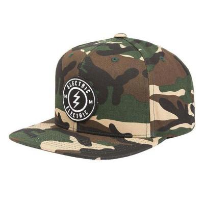ELECTRIC エレクトリック メンズ スナップバックキャップ 帽子 ED5541707 Voltage Snap Hat [CAM]