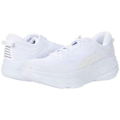 Hoka One One Bondi 7 メンズ スニーカー 靴 シューズ White/White