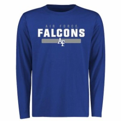 Fanatics Branded ファナティクス ブランド スポーツ用品  Air Force Falcons Royal Team Strong Long Sleeve T-Shirt
