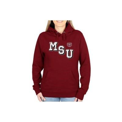 海外バイヤーおすすめ アメリカ USA カレッジ 全米 リーグ NCAA Missouri State University ベアs レディース Acronym プルオーバーパーカー マルーン