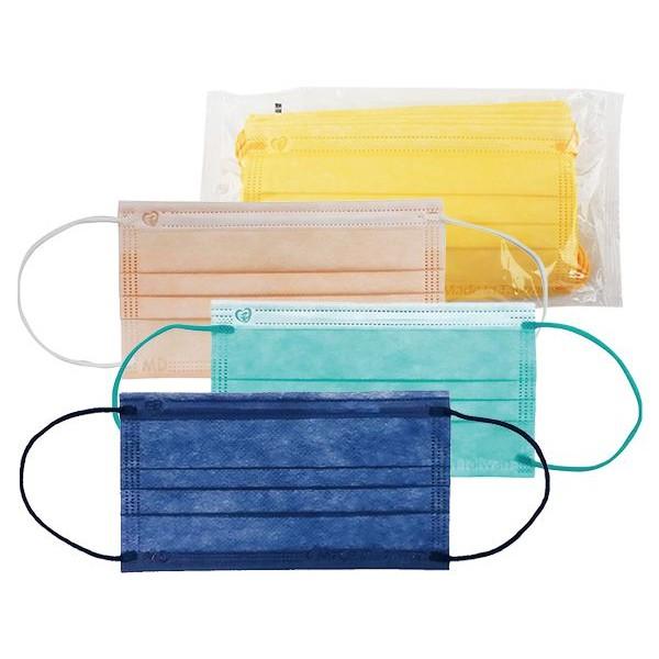 盛籐 馬卡龍系列 成人平面醫療用口罩(1包10入) 款式可選 MD雙鋼印【小三美日】 DS001392
