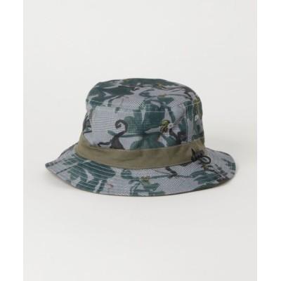 HAKKA / [ベビー・ボーイズ・リバーシブル・UVカット]モンキージャングルプリントリバーシブルハット KIDS 帽子 > ハット