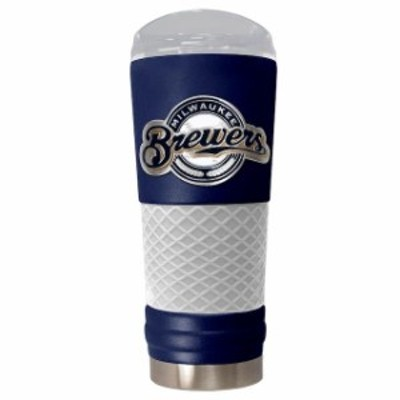 Great American Products ゲット アメリカン プロダクツ スポーツ用品  Milwaukee Brewers Blue 24oz. Powder Coated