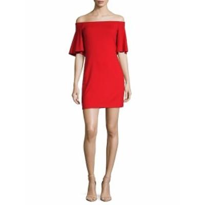 スサナモナコ レディース ワンピース Sasha Off-The-Shoulder Dress