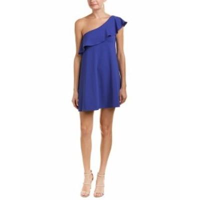 Susana Monaco スサナモナコ ファッション ドレス Susana Monaco One-Shoulder Shift Dress Xs Blue
