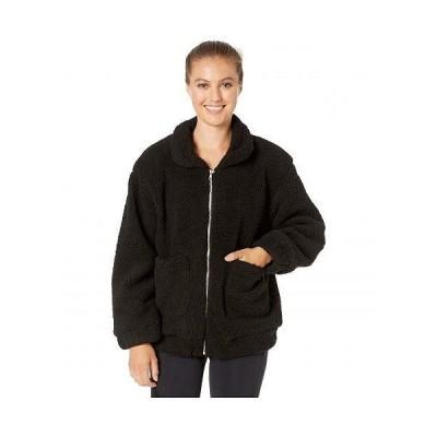 Onzie オンジー レディース 女性用 ファッション アウター ジャケット コート アクティブウエア Teddy Jacket - Black