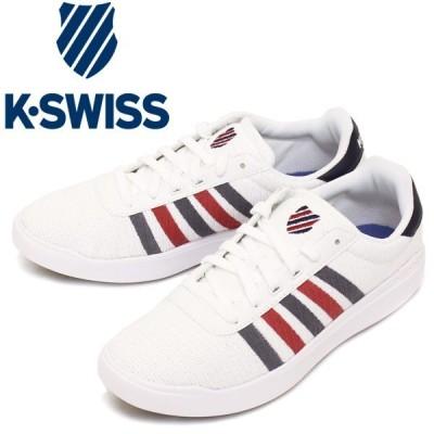 sale セール K-SWISS (ケースイス) 36059150 HERITAGE LIGHT T ヘリテージライトT スニーカー White/Navy/Red KS038