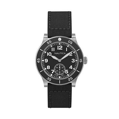 ノーティカ 腕時計 NAPHST002 メンズ 正規輸入品 ブラック