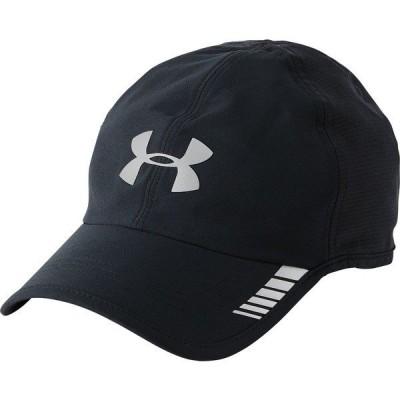 アンダーアーマー 帽子 アクセサリー メンズ Under Armour Men's Launch ArmourVent Running Hat Black/Graphite