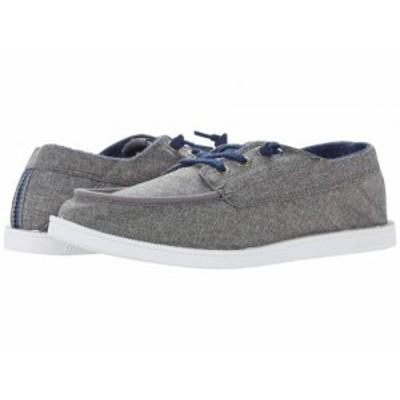 Quiksilver クイックシルバー メンズ 男性用 シューズ 靴 スニーカー 運動靴 Harbor Dredged Grey/Grey/White【送料無料】