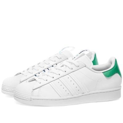アディダス Adidas メンズ スニーカー シューズ・靴 Superstar 'Paris' White/Mint