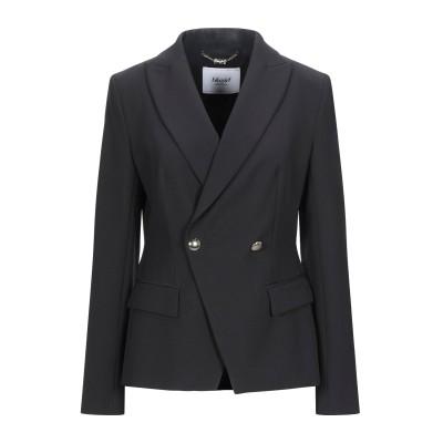 ブルーガール ブルマリン BLUGIRL BLUMARINE テーラードジャケット ブラック 42 ポリエステル 88% / ポリウレタン 12%