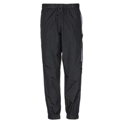 マルセロ ブロン MARCELO BURLON パンツ ブラック S ナイロン 100% / ポリエステル パンツ