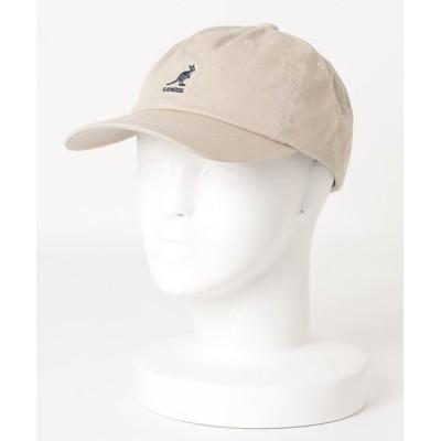 ムラサキスポーツ / KANGOL/カンゴール WASHED BASEBALL キャップ 105169002 MEN 帽子 > キャップ