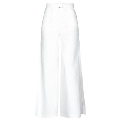 ジジル JIJIL パンツ ホワイト 44 コットン 78% / ポリエステル 22% / ポリウレタン パンツ