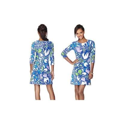 ワンピース リリーピュリッツァー Lilly Pulitzer Charlene Dress Spectrum Blue Lilac Catwalk Dress XXS XS S L