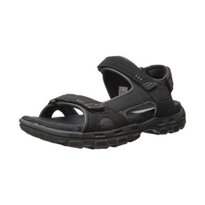 Skechers Men's Louden Fisherman Sandal,Black,10 M US