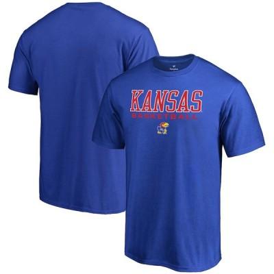 """ファナティックス メンズ Tシャツ """"Kansas Jayhawks"""" Fanatics Branded True Sport Basketball T-Shirt - Royal"""