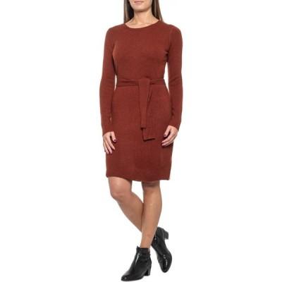 レイチェル ゾー Rachel Zoe レディース ワンピース ワンピース・ドレス Redwood Belted Sweater Dress - Merino Wool Blend, Long Sleeve Redwood