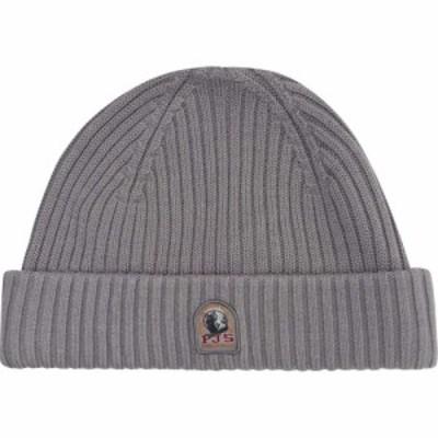 パラジャンパーズ PARAJUMPERS メンズ ニット ビーニー 帽子 Rib Knitted Beanie Hat Paloma