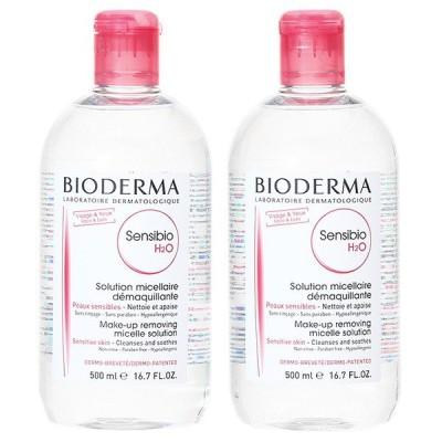 【セット】ビオデルマ BIODERMA サンシビオ H2O (エイチ ツーオー) D 500mL 【2本セット】