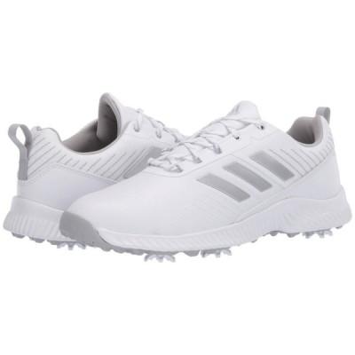 アディダス adidas Golf レディース スニーカー シューズ・靴 Response Bounce 2 Footwear White/Silver Metallic/Grey Two