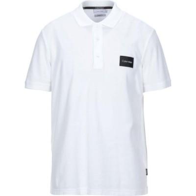 カルバンクライン CALVIN KLEIN メンズ ポロシャツ トップス Polo Shirt Ivory