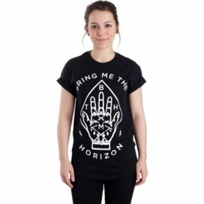 インペリコン Impericon レディース Tシャツ トップス - Diamond Hand - T-Shirt black