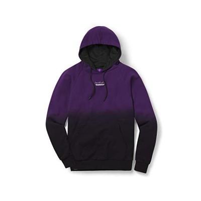 Twitch Hoodie ディップダイプルオーバーバーカ キャス主とゲーミング適用? パープル/紫 Purple XL