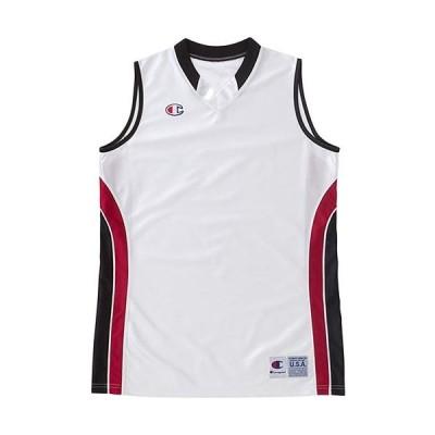 [チャンピオン] ゲームシャツ バスケットボール CBLR2204 Wブラック S
