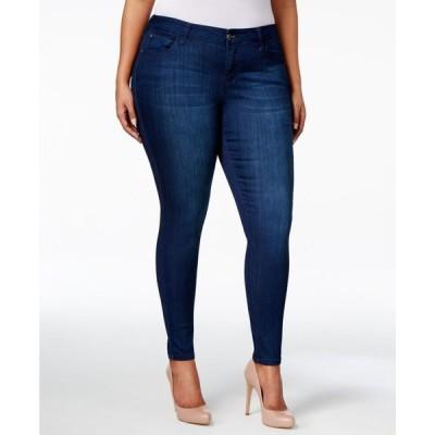 セレブリティピンク レディース デニムパンツ ボトムス Trendy Plus Size Infinite Stretch Dawson Super-Skinny Jeans