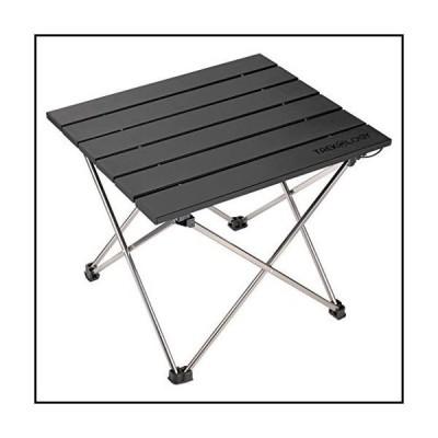 【新品】小型折りたたみ式キャンプテーブル ポータブルビーチテーブル ? 折りたたみ可能なピクニッ