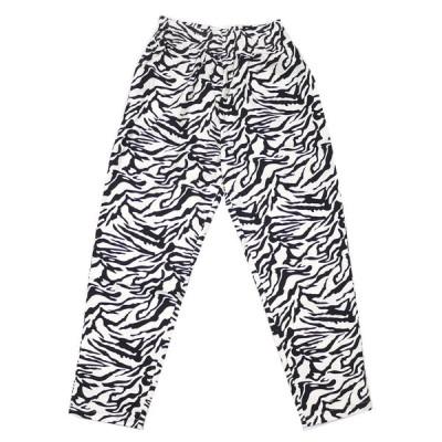 新品 クックマン Cookman Chef Pants Zebra シェフ パンツ ゼブラ WHITE ホワイト 白 メンズ レディース 999005829040 パンツ