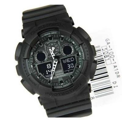 腕時計 カシオ ブランド New Casio GA100-1A1 ブラック クロノグラフ 腕時計