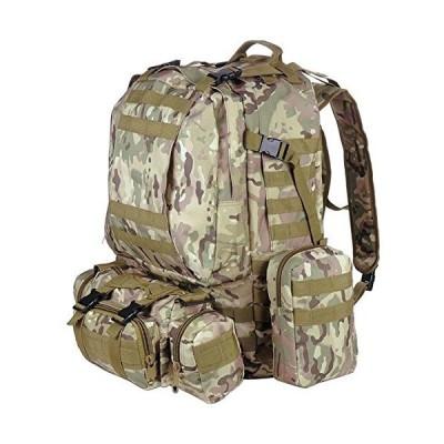 TRIPREL INC. Durable Water Resistant Sport Outdoor 55L Backpack Hiking Bag Rucksack - DESERT CAMOUFLAGE 並行輸入品