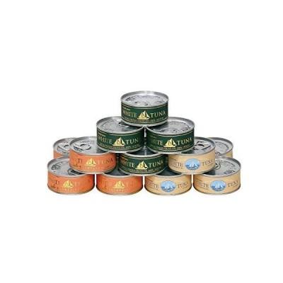 OceanPrincess〈ご自宅用まとめ買い〉贅沢ツナ缶 12缶セット (人気ツナ3種12缶)